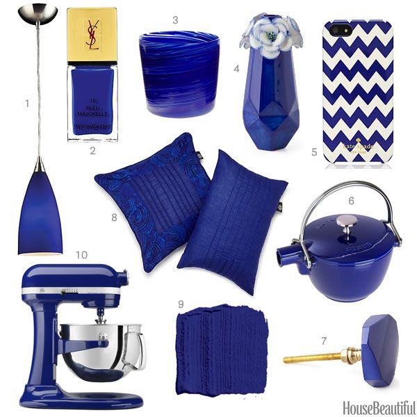 Blue Kitchen Accessories: Color Of The Week: Cobalt Blue