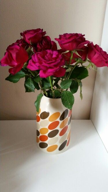Orla Kiely For Sainsburys Pebble Vase Mid Century Very Modern