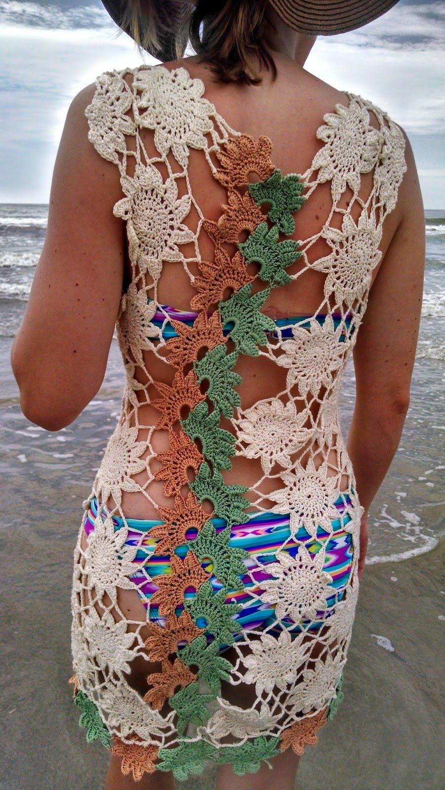 This crochet beach cover up is perfect for your next trip to the ...