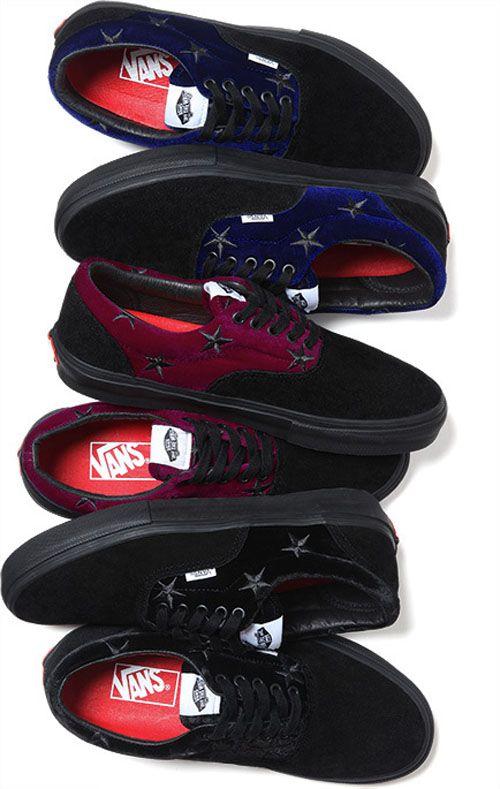 Supreme x Vans 'Velvet & Suede' Pack