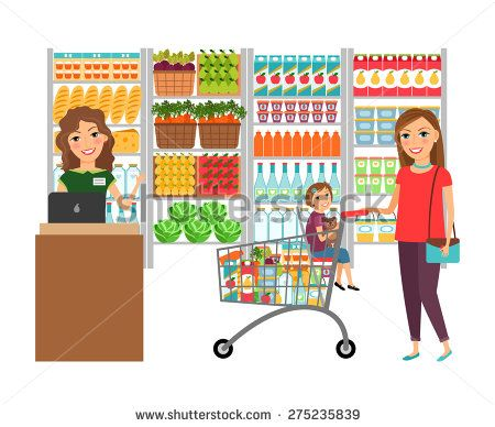 Grocery Store Stock Photos Images Pictures Supermarket Grocery Store Grocery