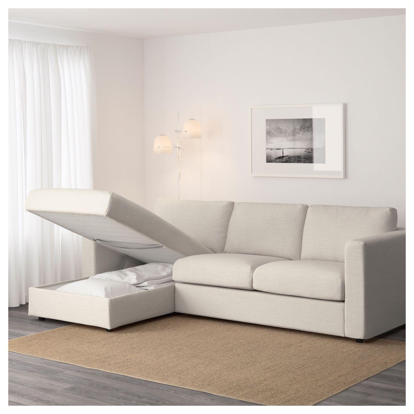 Vimle Sofa With Chaise Gunnared Beige Ikea Vimle Sofa Cozy