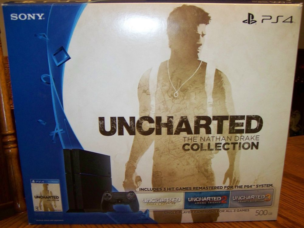 Brand New Playstation 4 Uncharted The Nathan Drake