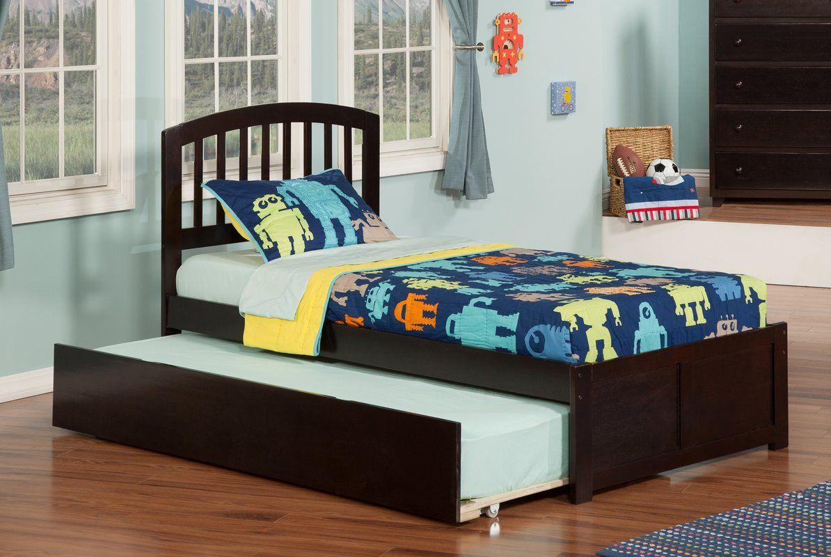 Wasilewski Platform Bed with Trundle Atlantic furniture