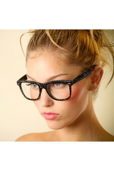 Just ordered these swarovski crystal frame glasses..so cute | Things ...