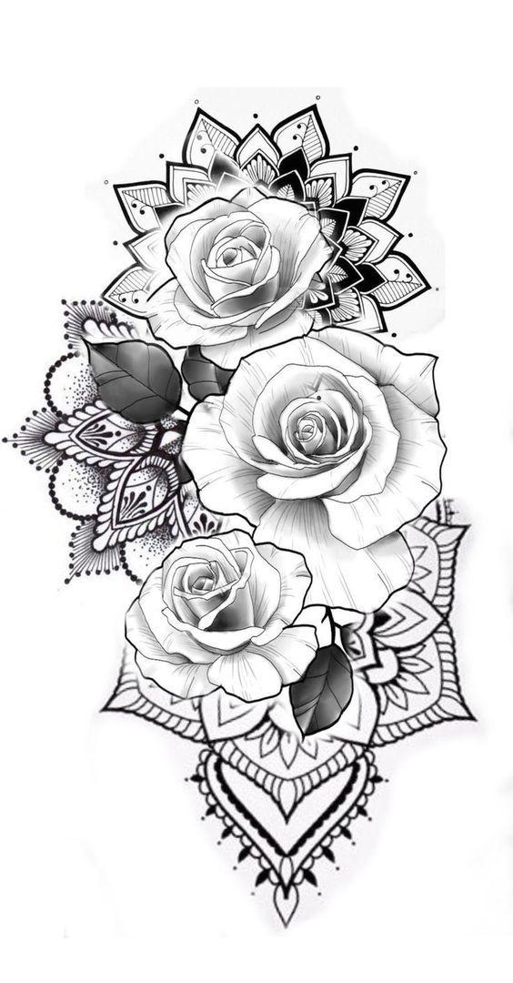 Photo of Aber mit Sonnenblumen #tattoos – Flower Tattoo Designs  Malika Gislason #besttattooideas – diy best tattoo ideas