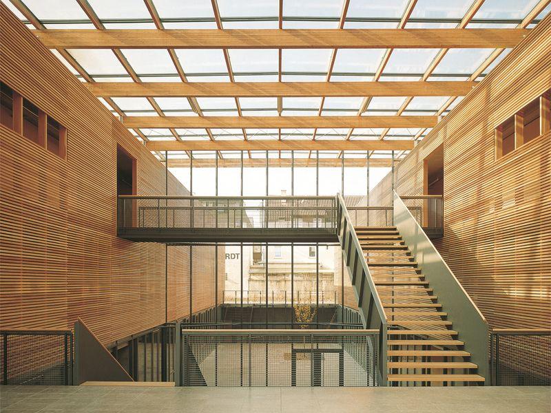 Mgf architekten eduard m rike grammar school ludwigsburg 1996 zdg01 pinterest grammar - Mgf architekten ...