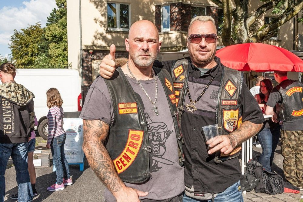 Bandidos MC Bochum: Straßenfest | Bandidos MC | Biker clubs