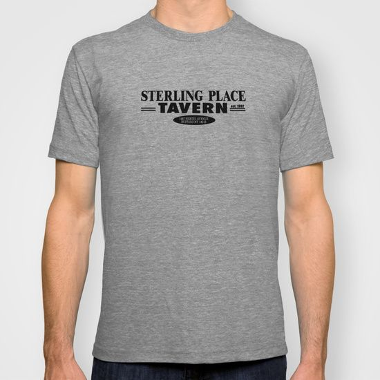 Sterling Place Tavern /  We recently sold a print of this former bar's sign, but we think it looks way better on a shirt.  What do you think?