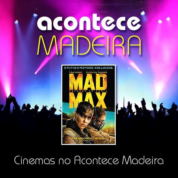 Estreia da semana nos Cinemas Acontece Madeira:  - Mad Max: Estrada da Fúria  Consulte os filmes em exibição e respectivas sessões aqui: http://bit.ly/1xJc0nE   #cinemas #estreias #madmax