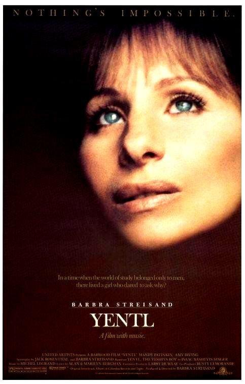 Yentl 1983 Eeuu Dir Barbra Streisand Drama Musical Romance Feminismo Educacion Dereito Relixion Dvd Cine 1564 Cine Carteles De Peliculas Y Carteles De Cine