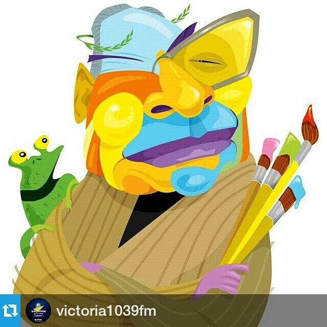 """Casi nada... un dibujo diario por 50 años.   #Repost @victoria1039fm ・・・ Hoy se cumplen 50 años de """"Zapatazos"""". El21 de enero de 1965 se publicó el primer """"Zapatazos"""" en El Nacional. Su autor es uno de los artistas más importantes de Venezuela: Pedro León Zapata, quien además de ser escritor, pintor y humorista ha dedicado gran parte de su vida al oficio por el que será más recordado: caricaturista. Con un humor agudo, Zapata dibuja la realidad en las páginas de este diario. Sus creaciones…"""