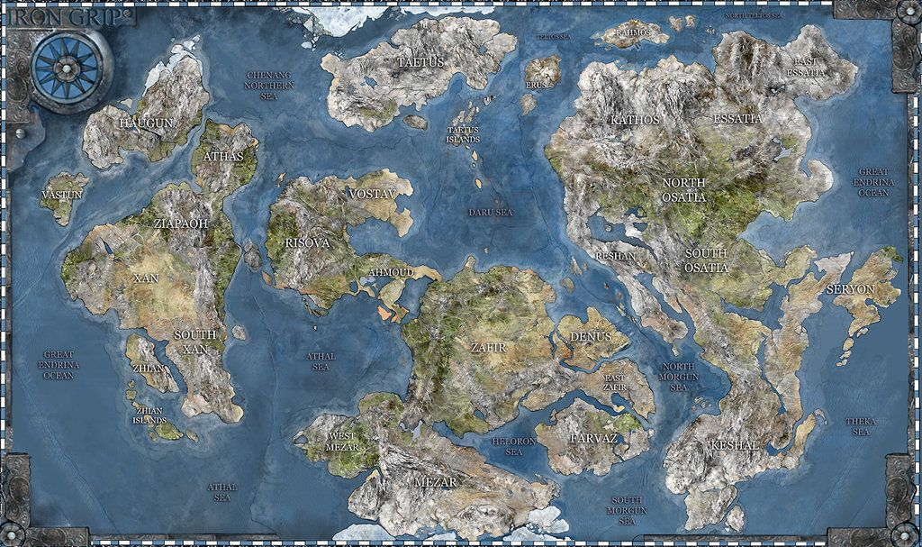 Fantasy Cartography For All Your Worldbuilding And Rpg Needs This