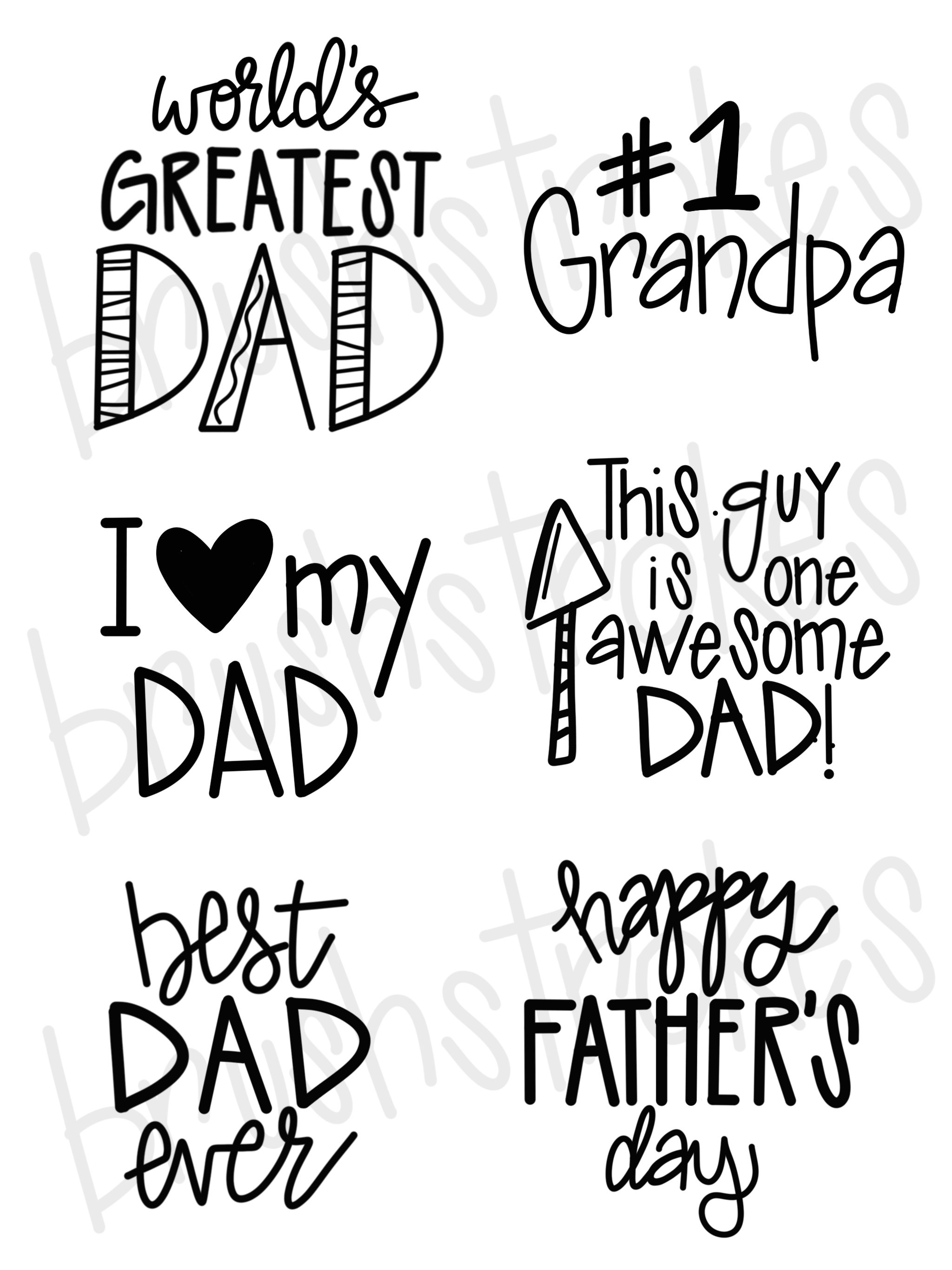 Father's Day Sayings Silk Screen Fathers day quotes, Dad