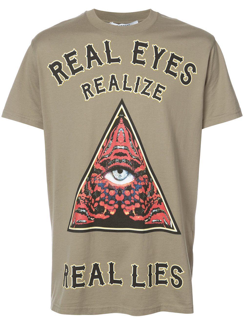 ff2ce889cc2 Givenchy Camiseta com slogan