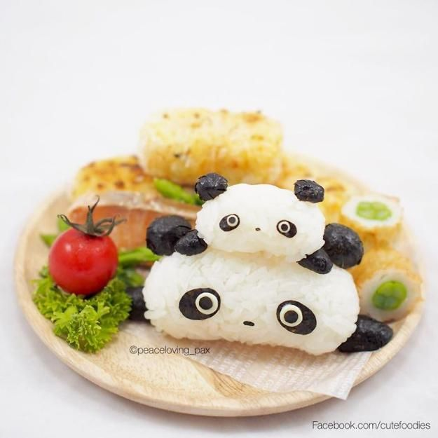 Cute Foodies Fun Food Design Ideas Turning Rice Balls into Edible