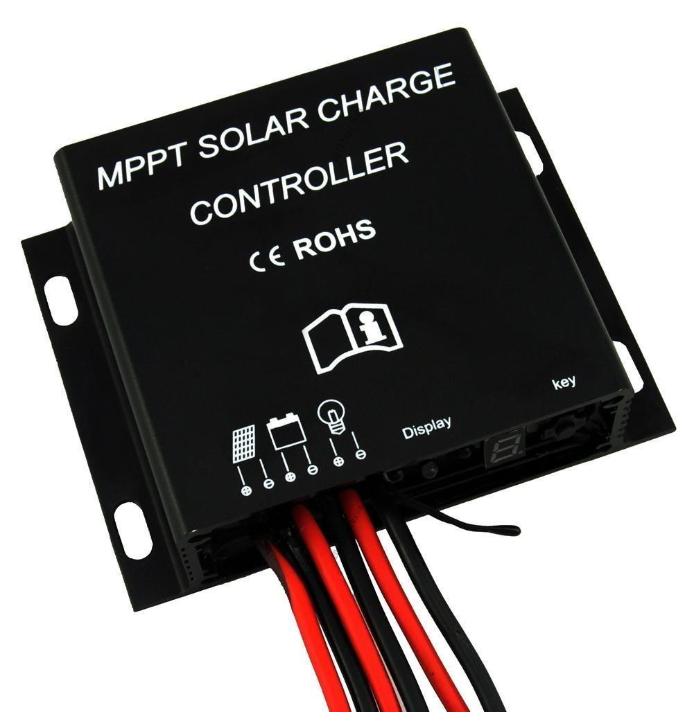 10A MPPT Solar Battery Charge Controller 12V 24V