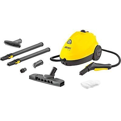 Karcher Sc1 020 Steam Cleaner In Yellow Steam Cleaners How To Clean Carpet Window Cleaner