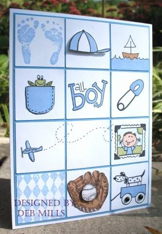 baby boy grid, CCEE by 88 keys - Cards and Paper Crafts at Splitcoaststampers