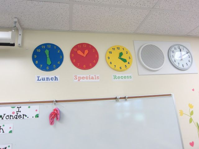 Even kids who can't tell time can see that the big hand and the little hand need to be on the 11 and the 6 for it to be lunch time