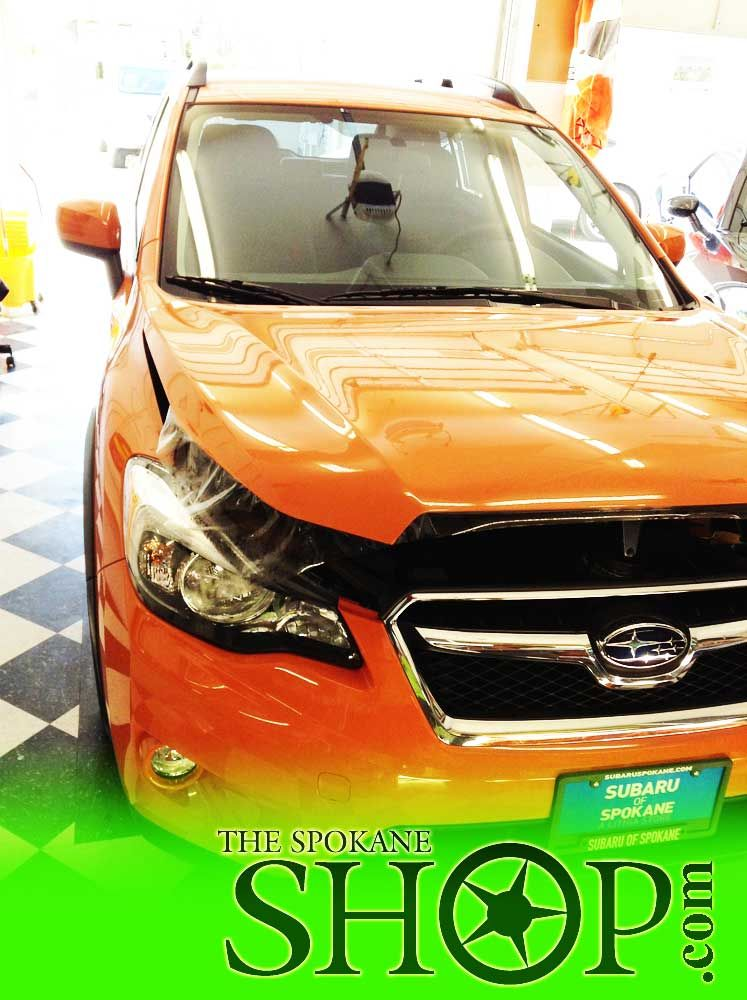 Subaru Rav4 Highlander Orange Window Tinting Paint Protection