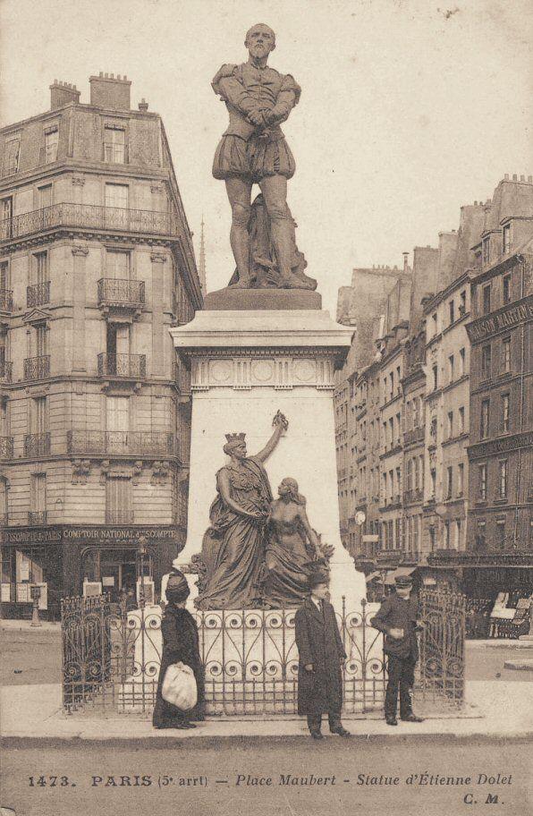 place Maubert - Paris 5ème