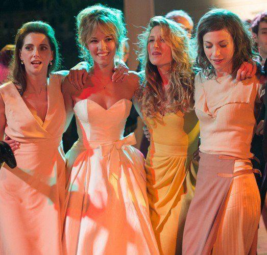 Serial Bad Weddings 2014 Strapless Dress Formal Cinema Wedding Iconic Weddings