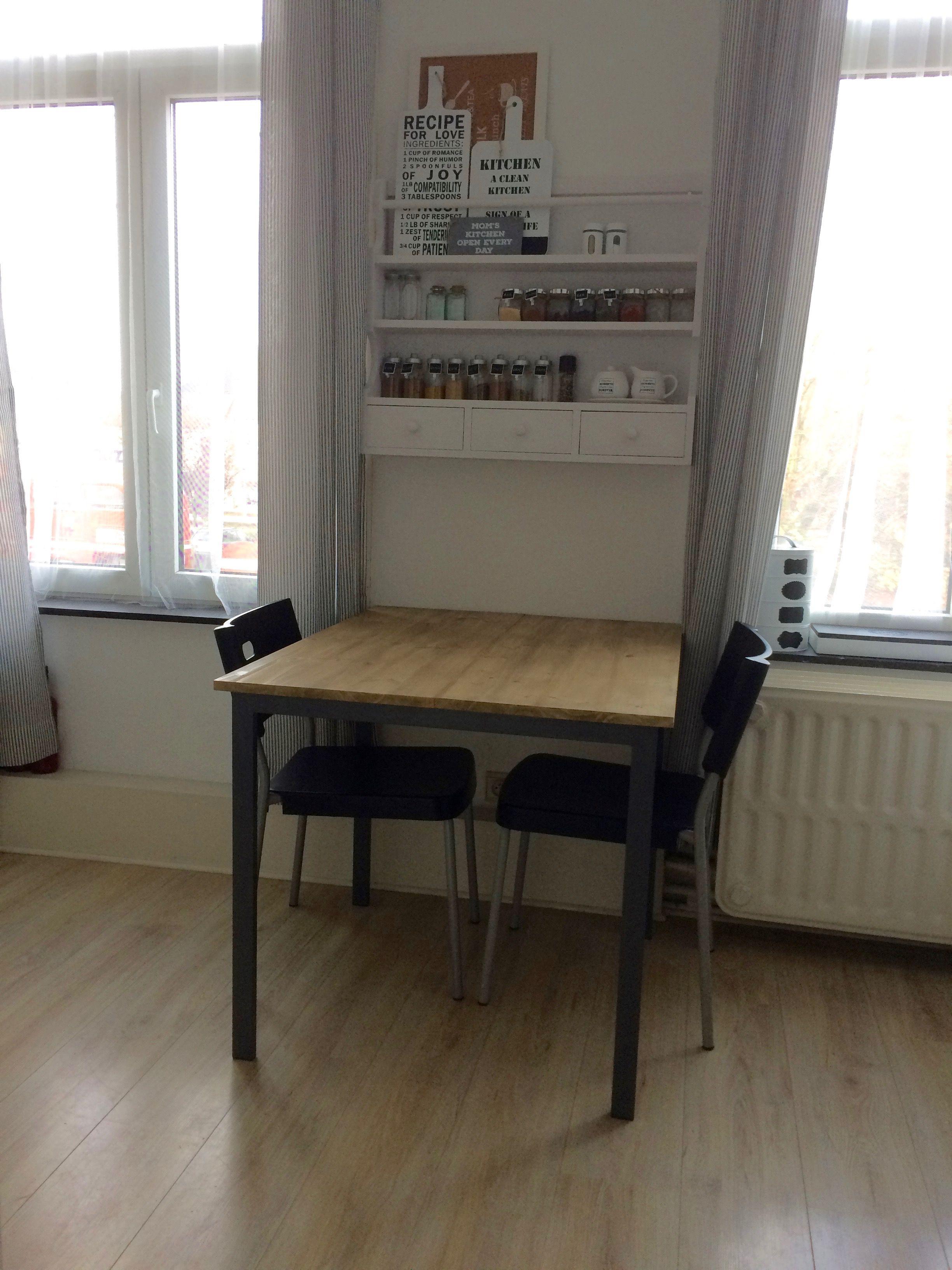 Table Ikea Melltorp Grise Hack Plateau Remplace Par Planche En