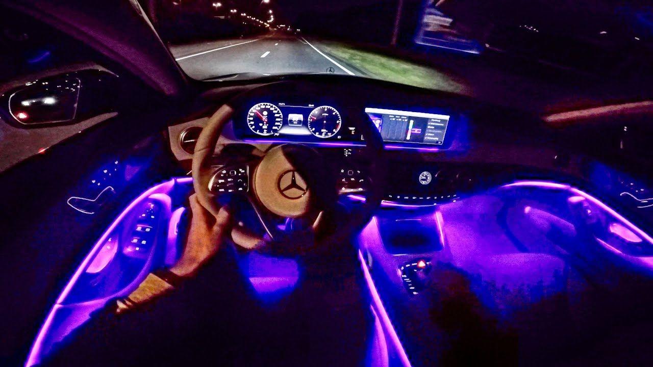 2018 Mercedes Benz S Class Pov Night Drive Ambient Lightinghttps Www Youtube Com Watch V Ffi0fqgzbkw Benz S Class Night Driving S Class