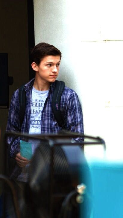 Tom Holland/ Peter Parker Imagines - My Young, Blind Friend