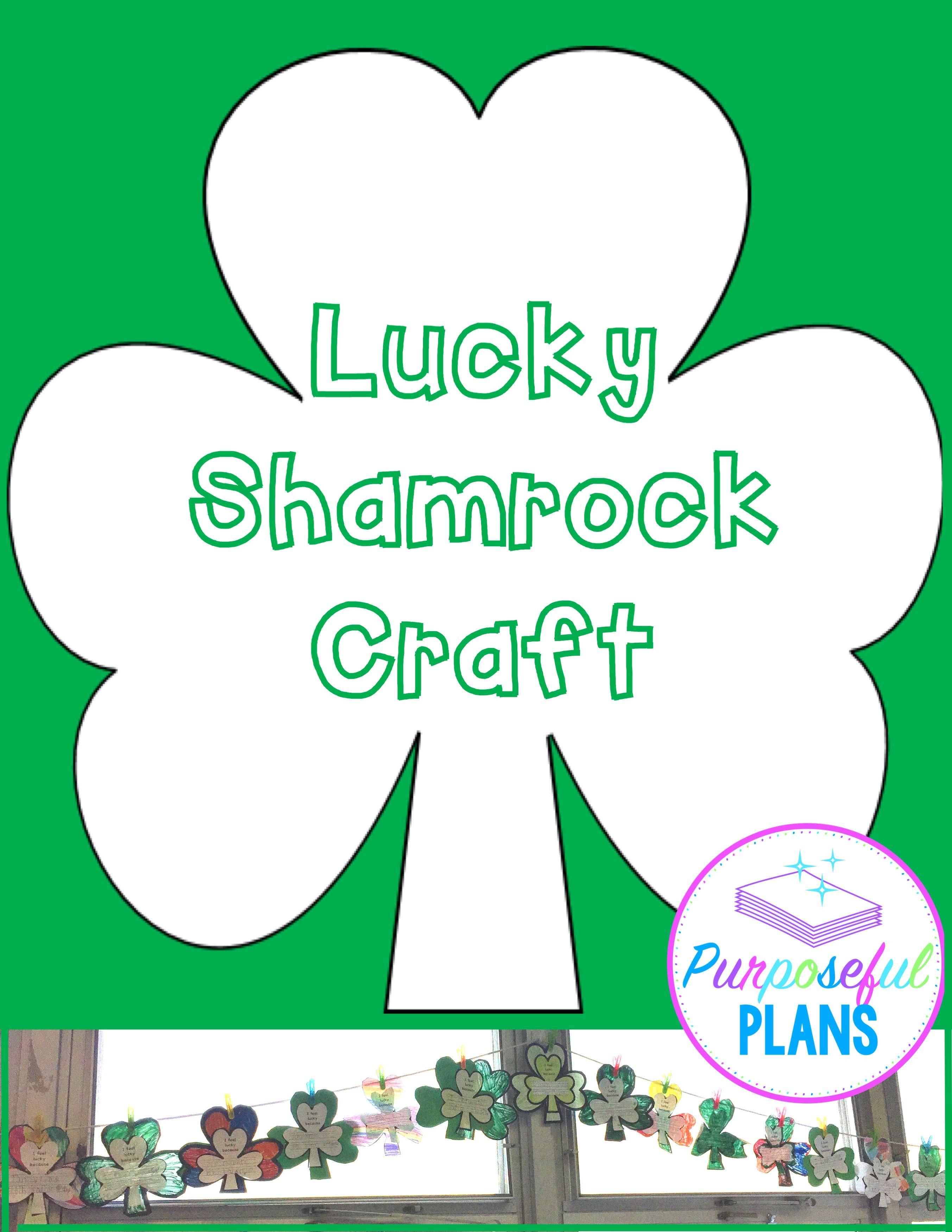 St Patrick S Day Shamrock Craft