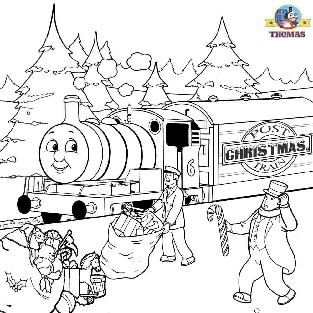 Thomas+Percy+Xmas+present+train+sheets+to+color+Christmas+coloring+ ...