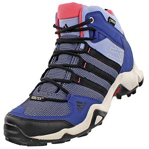 Adidas AX 2 Mid GTX Boot Womens Prism Blue Black Super Blush 95 * You can