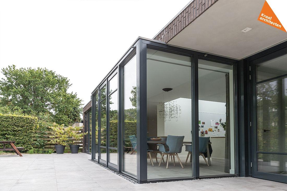 Kraal architecten architect zeist 2 onder 1 kap woning