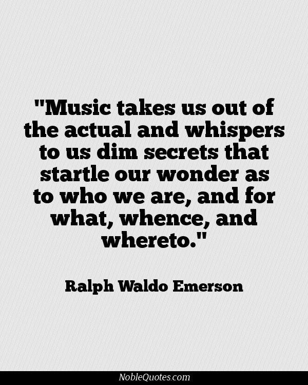 Music. Make sure schools don't take music classes away
