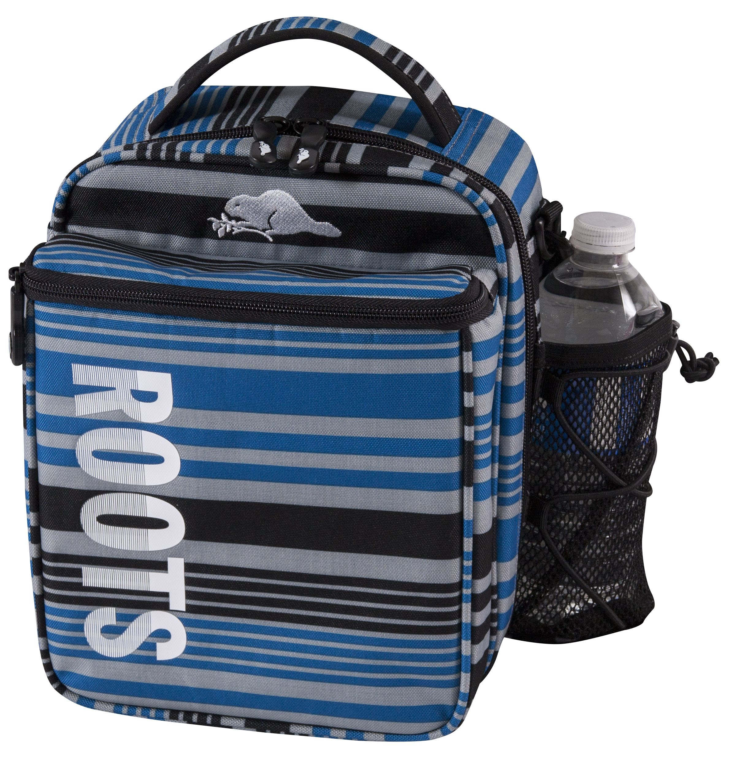 Roots Cooler Bag With Plastic Containers And Ice Pack Lunch Box