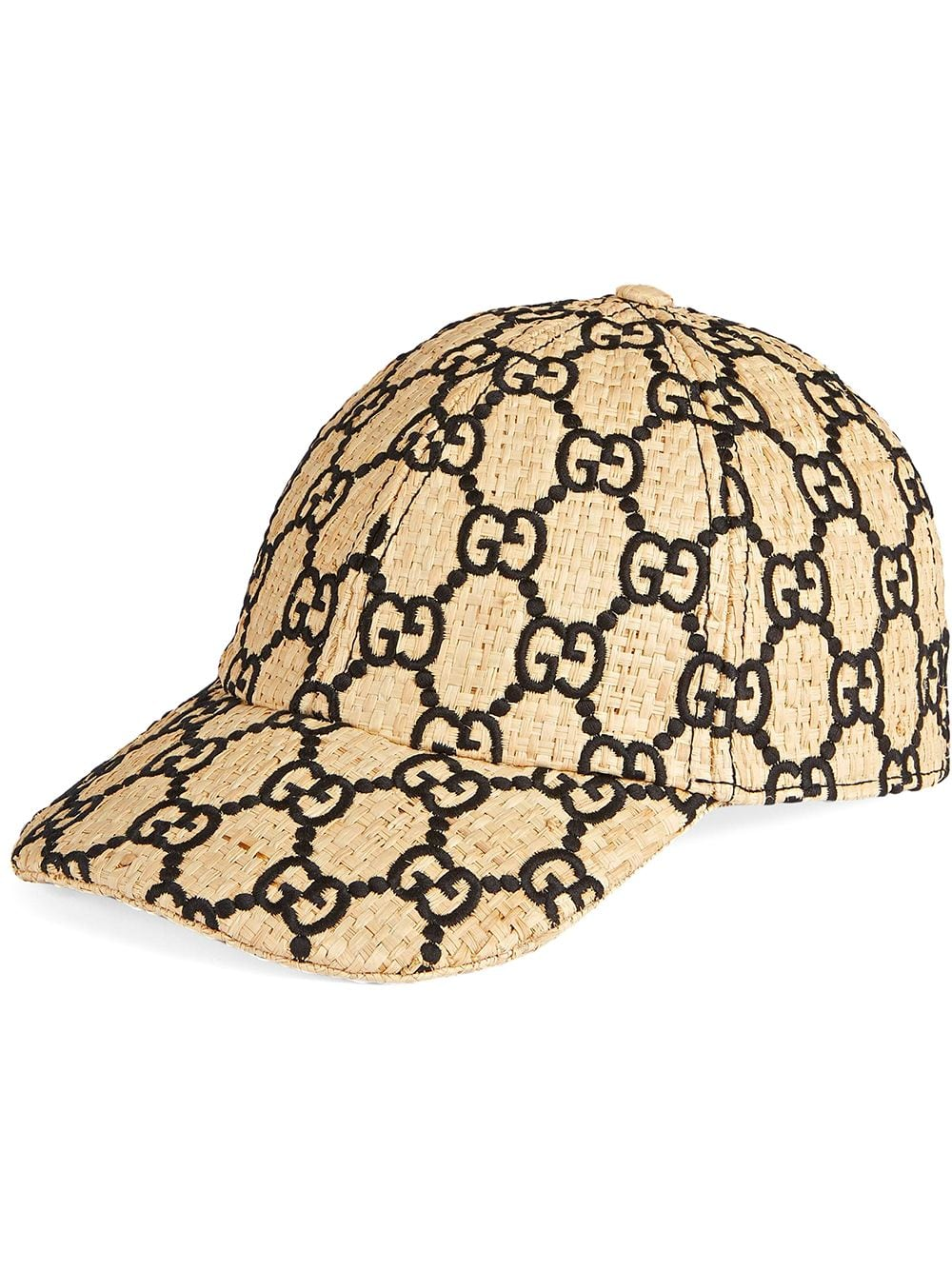 e6c2cbaf66 Gucci GG Baseball Hat With Snakeskin in 2019 | Products | Gucci hat ...