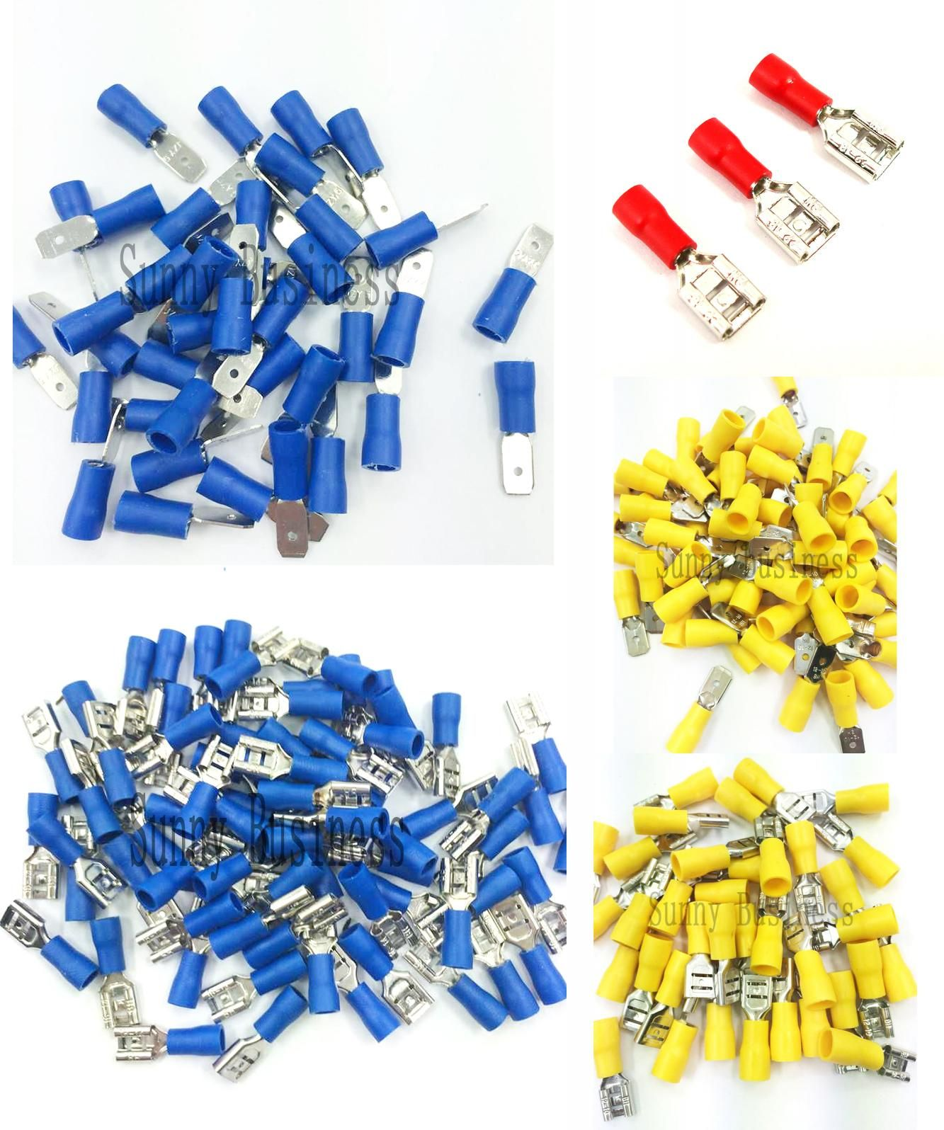 Visit to Buy] Good Quality 50pcs 4.8mm Female Insulated Wire ...