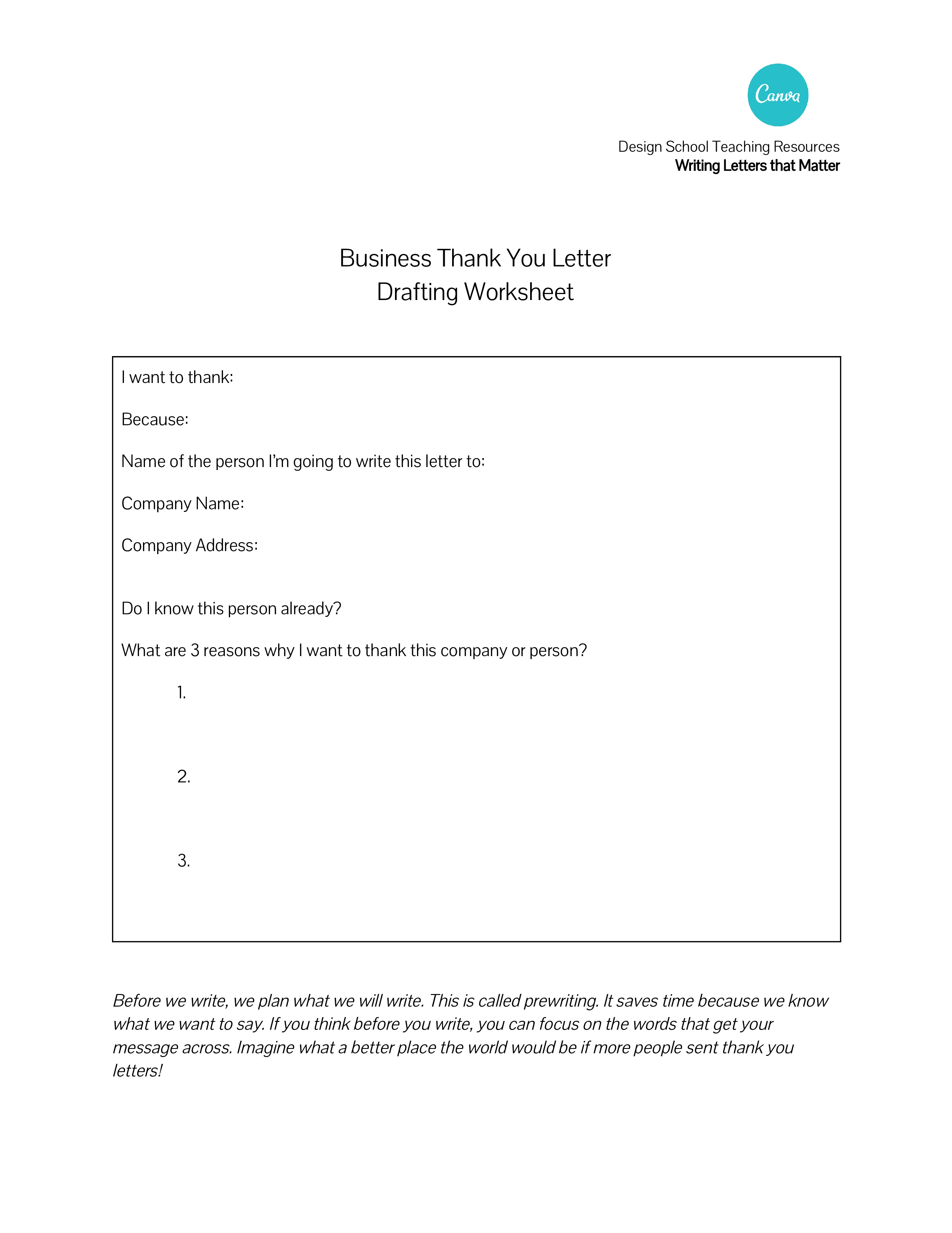 formal thank you business letter  how to write a formal