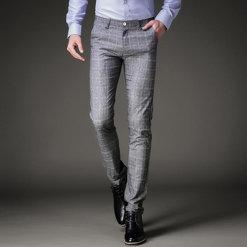 5f1bd55e Gender: Men Item Type: Suit Pants Front Style: Flat Style: Smart ...