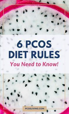 The 6 PCOS Diet Rules You Need to Know! // The best diet for PCOS // PCOS Diet Rules for beginners |...