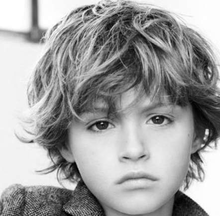40 new ideas for haircut boys kids long curly haircut in