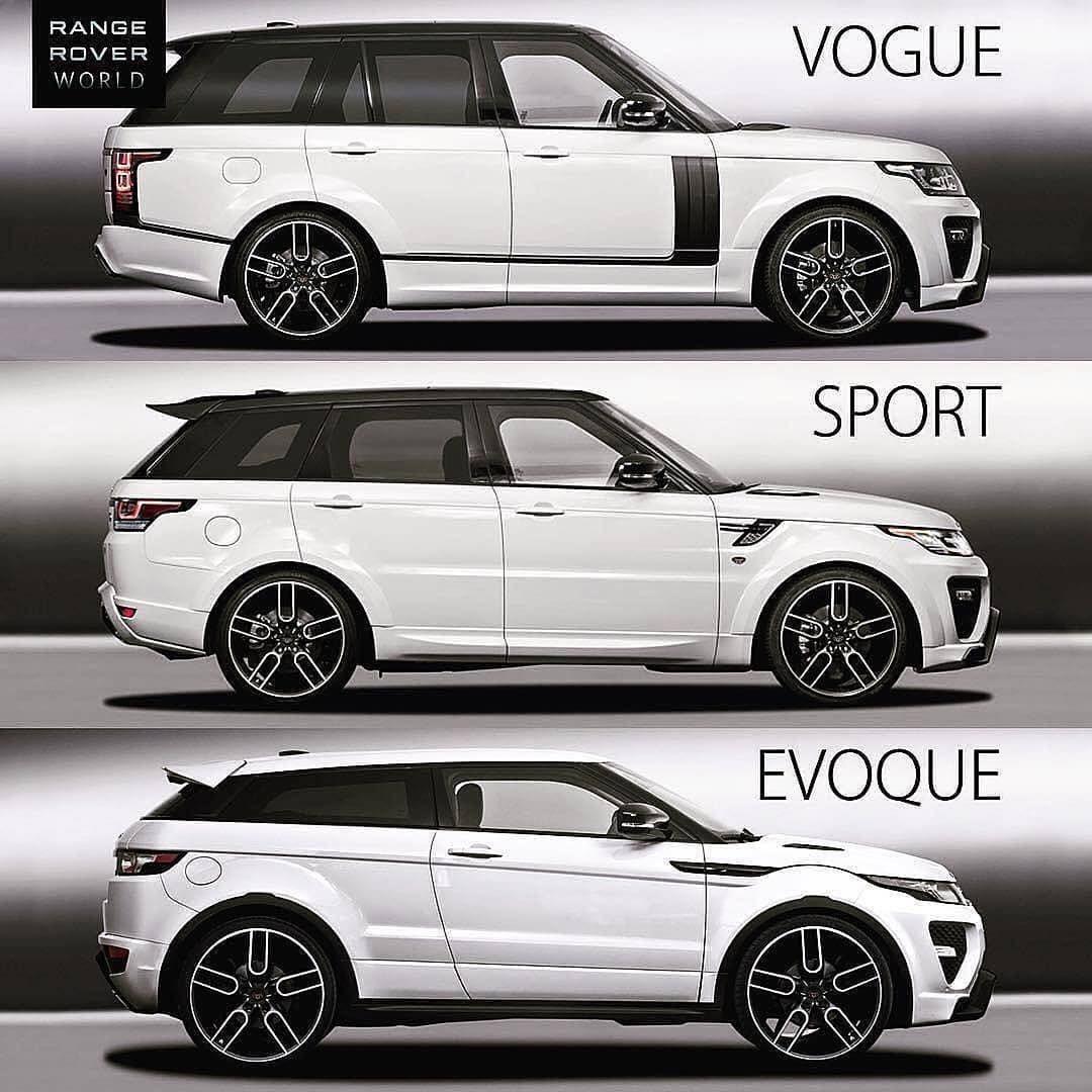 Vogue Sport Or Evoque Pick Your Range Rover Follow 605hp Via Rangerover World