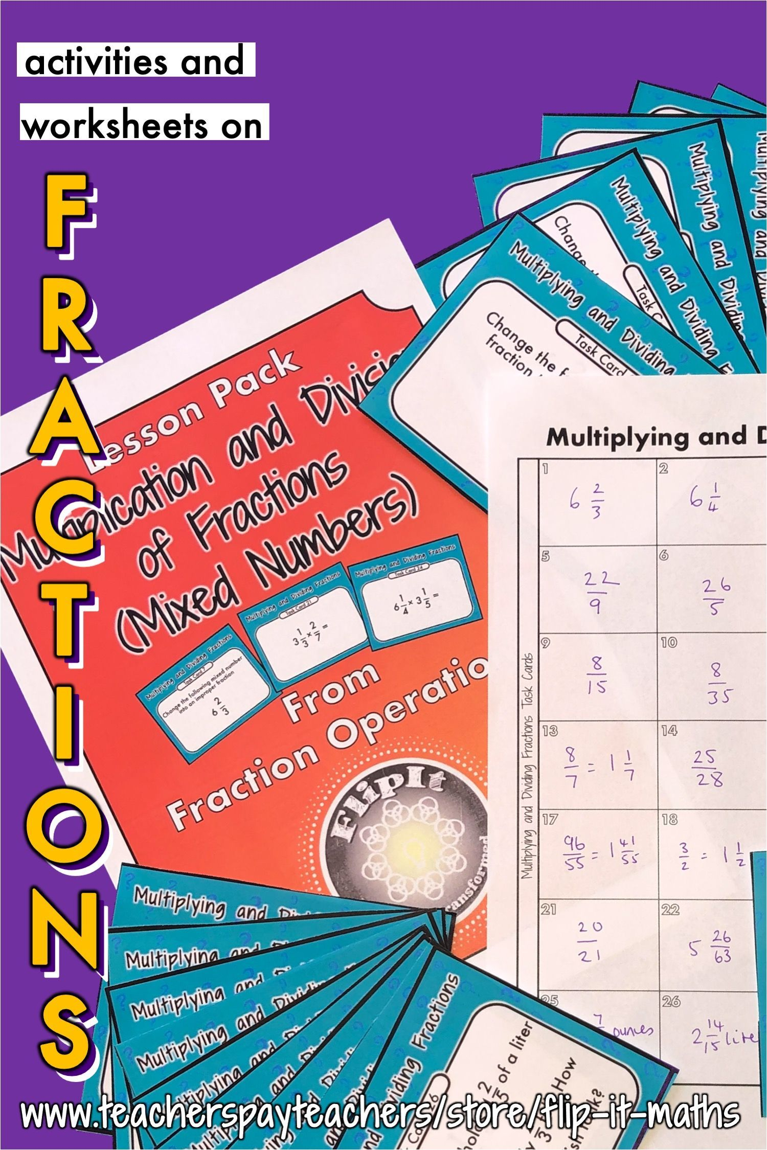 Multiplication And Division Of Mixed Numbers In