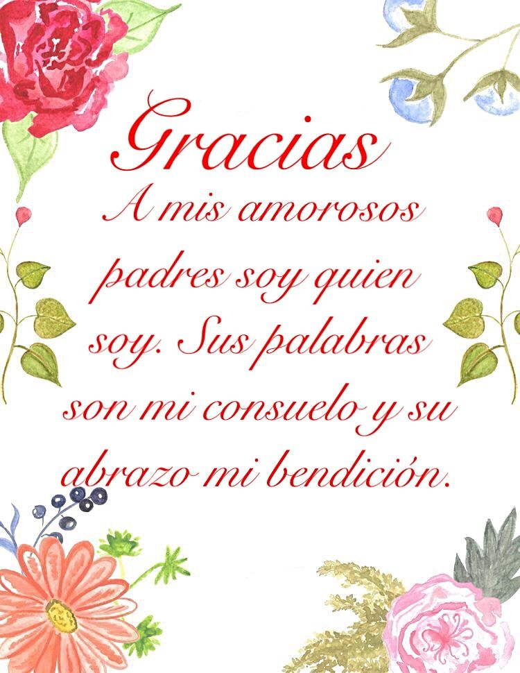 Frases Agradecimiento Padres Frases De Agradecimiento Frases Familiares Frases De Inspiracion