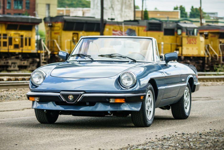 No Reserve 1986 Alfa Romeo Spider Veloce Alfa Romeo Spider Alfa Romeo Spider Veloce Alfa Romeo