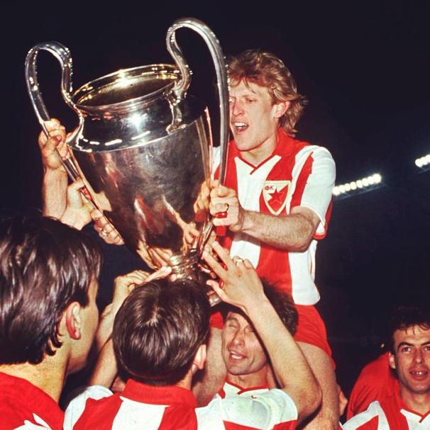 Red Star Belgrade European Cup Winners In 1991 Red Star Belgrade Red Star Cup Final
