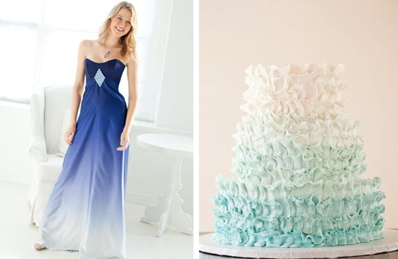 ombre wedding dress - Google zoeken