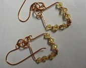Dangle Crystals by FrogsPondStudio on Etsy, $10.00