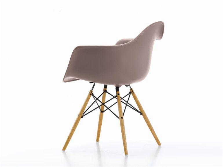 Daw sedia in polipropilene collezione eames plastic armchair by